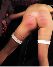 A severe caning until she can't sit anymore