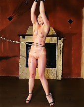Intense whipping of hot babe